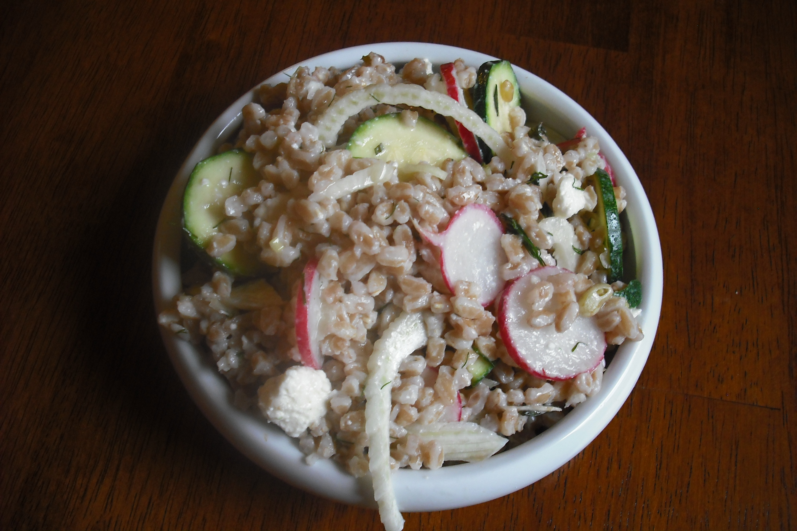 Buttermilk Farro Salad Recipes — Dishmaps