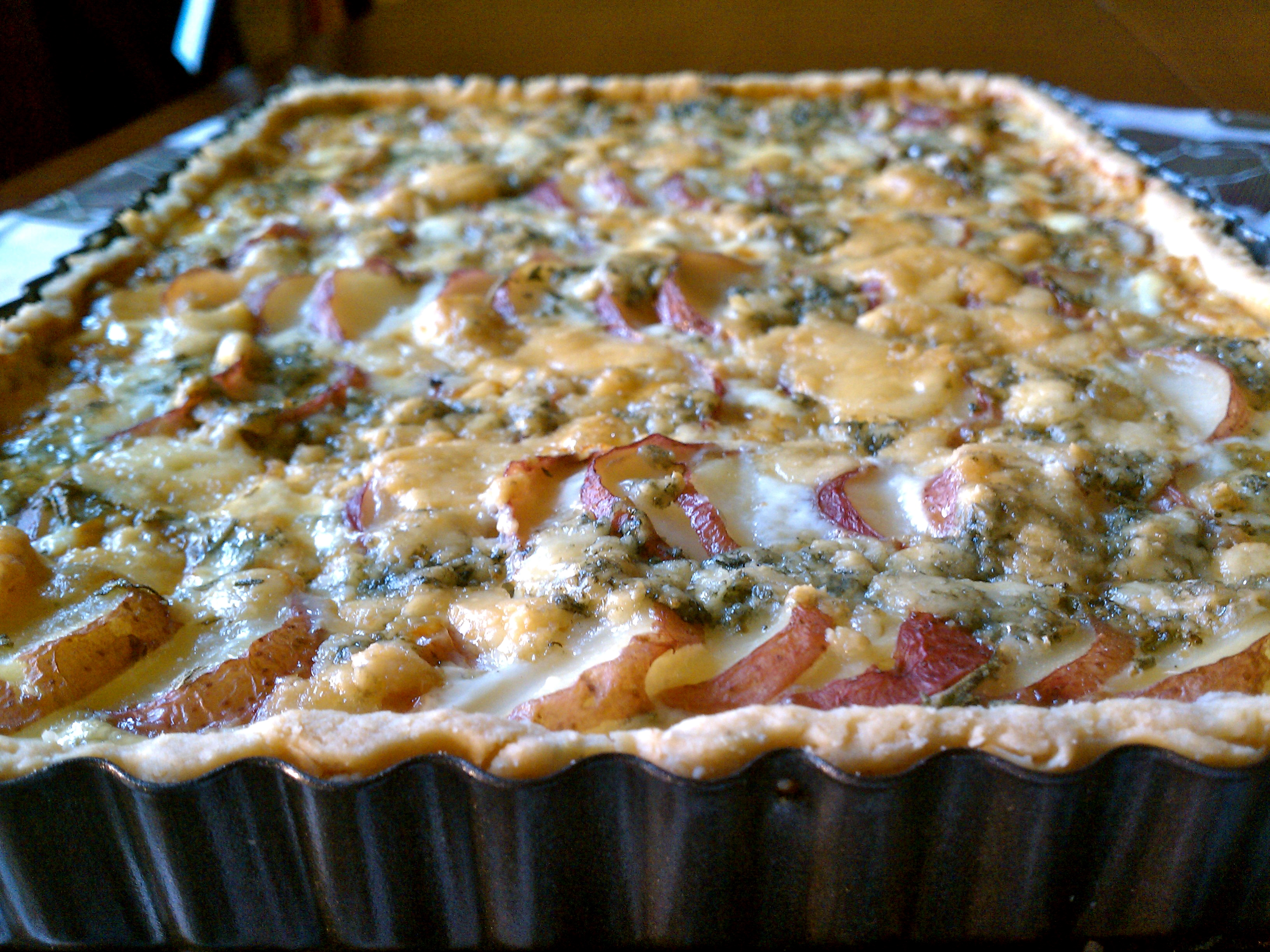 Blue Cheese And Red Potato Tart Recipes — Dishmaps