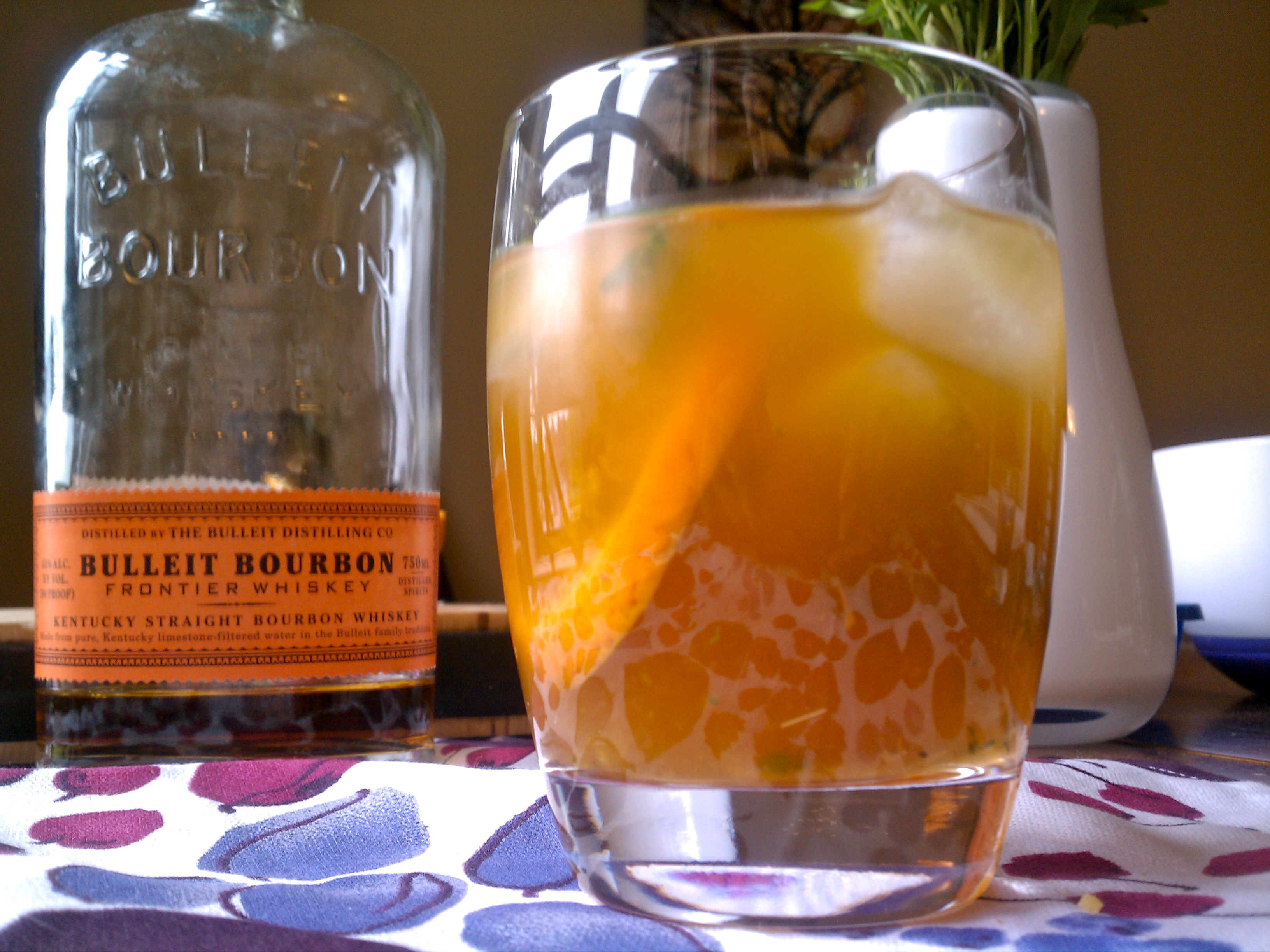 Sweet Tea and Bourbon Cocktail |