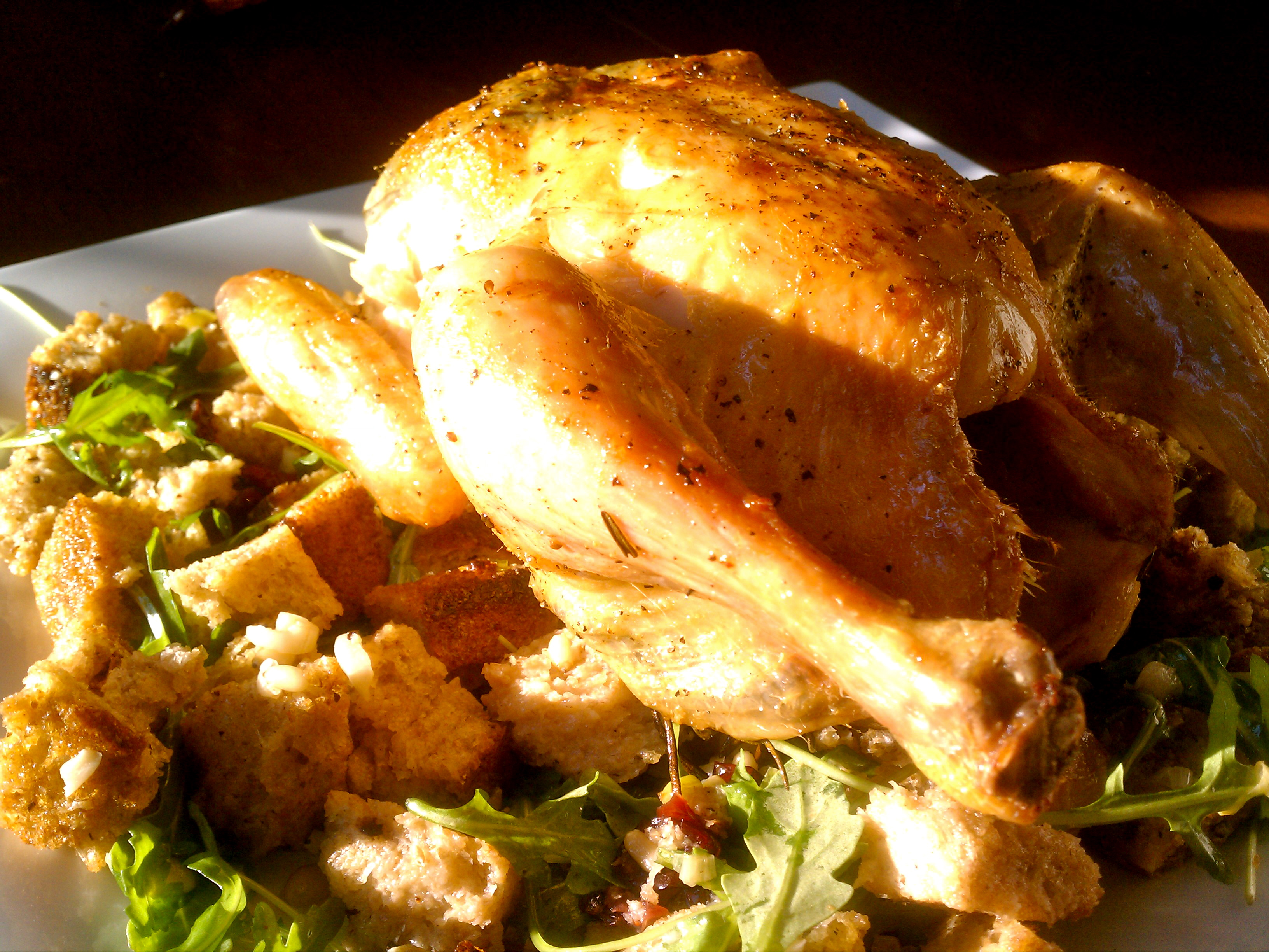 Zuni Cafe's Roasted Chicken and Bread Salad
